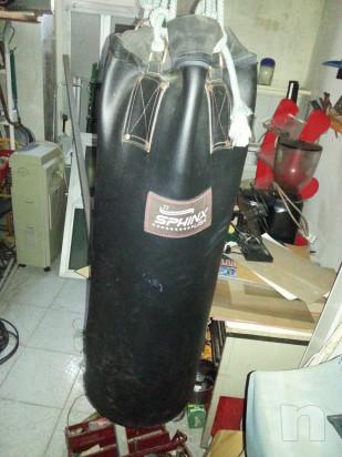 Guantoni da box Leone e sacco per box foto-30592