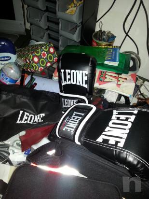 Guantoni da box Leone e sacco per box foto-30593