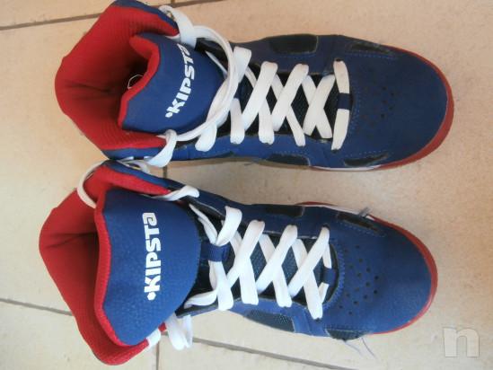 scarpe basket Kipsta ragazzo taglia 38 foto-30691