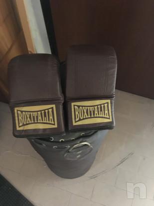 """Sacco boxe """"Boxitalia Seletti """" come nuovo foto-30847"""