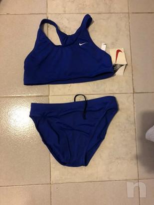 Costume a due pezzi Nike blu foto-16264