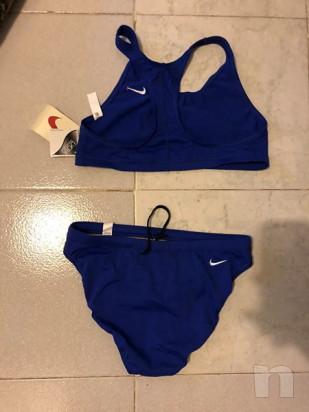 Costume a due pezzi Nike blu foto-30971