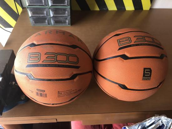 2 palloni minibasket (tg.5) usati due volte. foto-31083