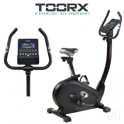Cyclette TOORX BRX-100 HRC elettromagnetica foto-16370