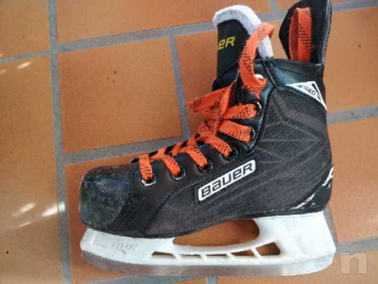 Pattini hockey ghiaccio bimbo foto-31342