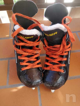 Pattini hockey ghiaccio bimbo foto-31343