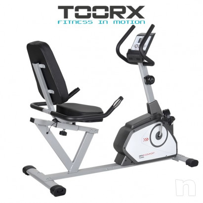 Cyclette Orizzontale Toorx Brx R Comfort foto-16554
