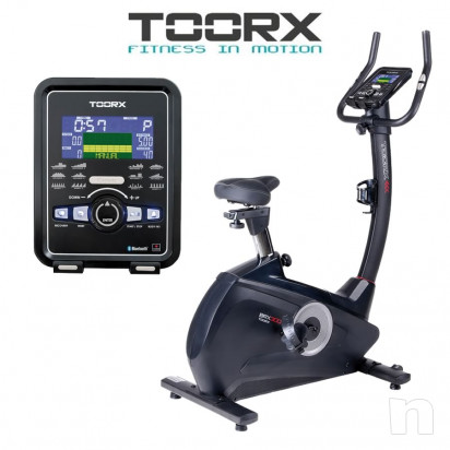 Cyclette TOORX BRX-300 HRC elettromag. App Ready foto-16571