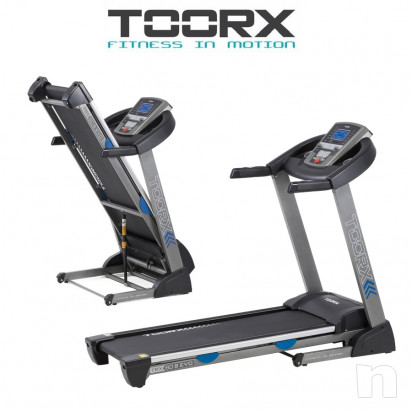 Tapis Roulant TOORX TRX-60 S EVO HRC App Ready foto-16573