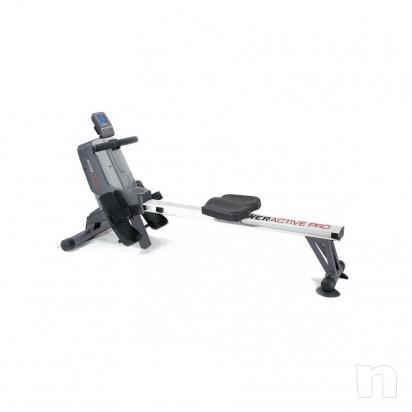 Vogatore TOORX ROWER ACTIVE PRO ricevitore cardio foto-16625
