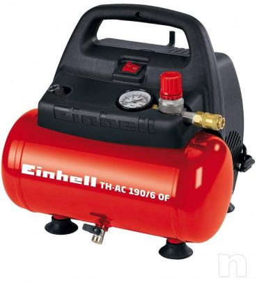 Compressore aria nuovo imballato Einhell 4020495 TH-AC 190/6 foto-16630