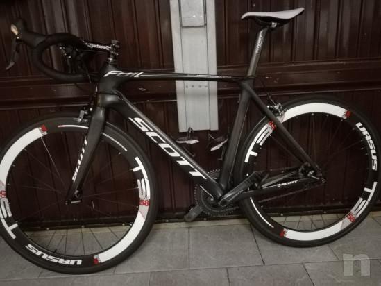 Scott Foil 20 carbonio, misura 56 (L) montata con Shimano ultegra 10 velocità foto-31708