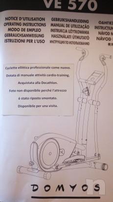 Cyclette ellittica come nuova foto-16746