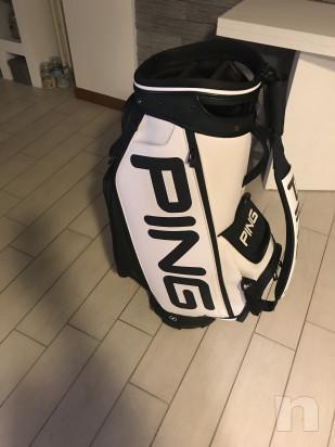 Sacca golf PING+ombrello+cover pioggia foto-16795