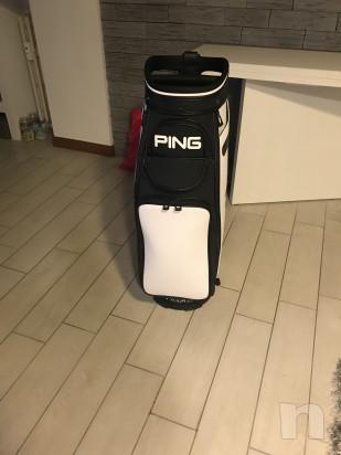 Sacca golf PING+ombrello+cover pioggia foto-31910