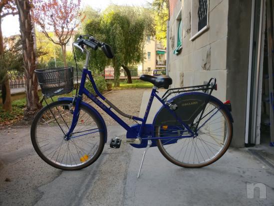 Bicicletta da donna Holland blu foto-16860