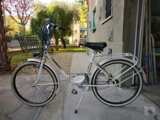 Bcicletta da donna pieghevole bianca Harmony foto-16861