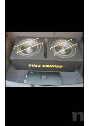 Vendo subwoofer ground zero e amplificatore  foto-16902