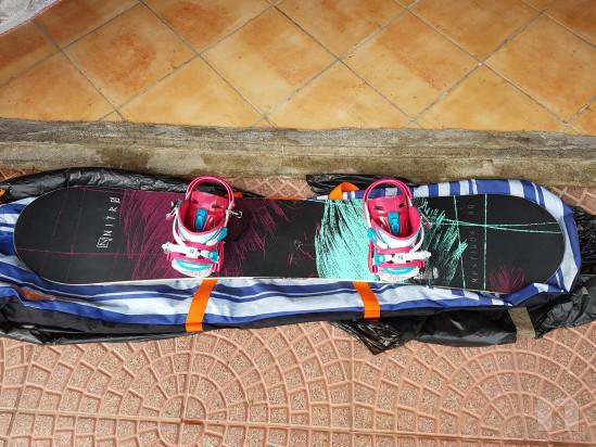Tavola snowboard donna + scarponi foto-32279