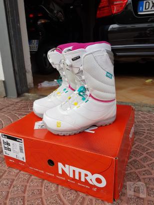 Tavola snowboard donna + scarponi foto-32280