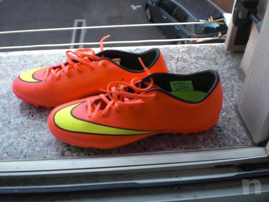 Scarpe x calcio a 5 o calcetto Nike Mercurial mis. 43 nuove di zecca !!!! foto-16964