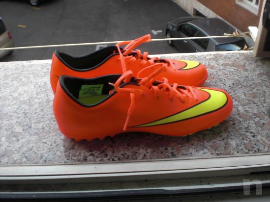 Scarpe x calcio a 5 o calcetto Nike Mercurial mis. 43 nuove di zecca !!!! foto-32285