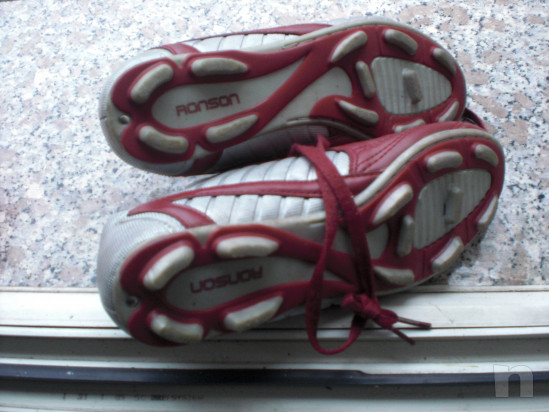 Scarpini da calcio marca RONSON mis. 36 usate una volta !!! foto-32290