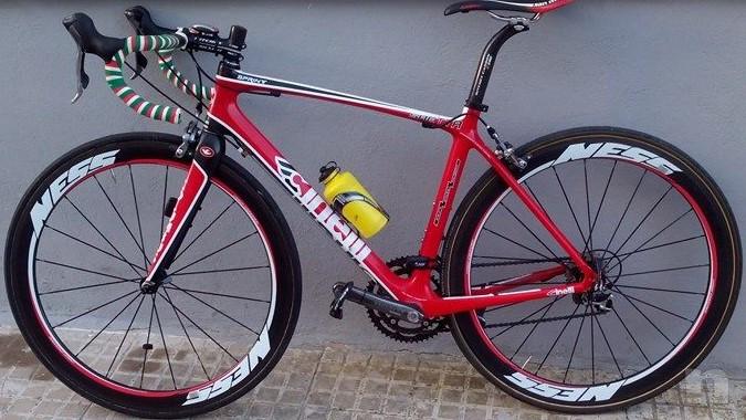 Cinelli Saetta Sprint, full carbon, ultegra 10v,ruote NESS carbonio  foto-16986