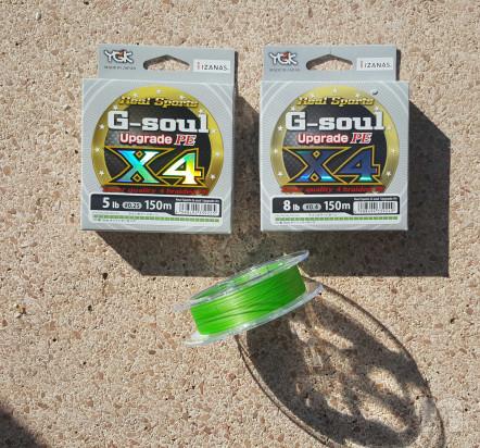 Trecciato Made in Japan YGK G-Soul X4 Upgrade foto-32392