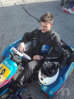Vendo kart kz energy/tm foto-32425