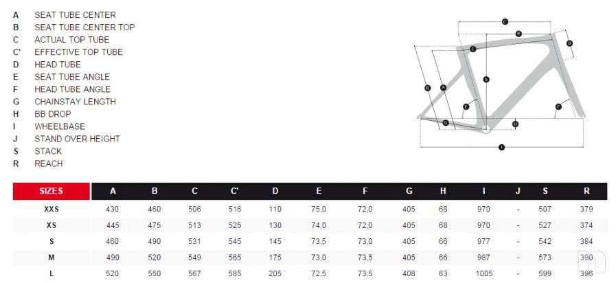 "RIDLEY NOAH SL tg. 54 ( ""S"" ideale x persone 170 - 178 cm)  peso reale 6,4 kg foto-32456"