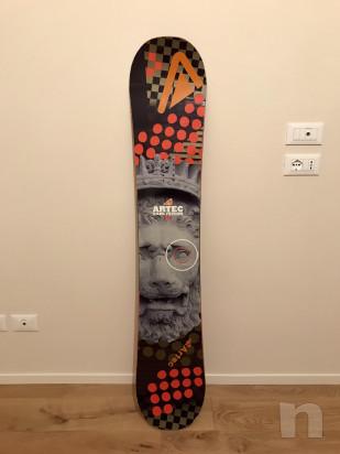 Snowboard Artec Gabe Taylor 155 foto-17114