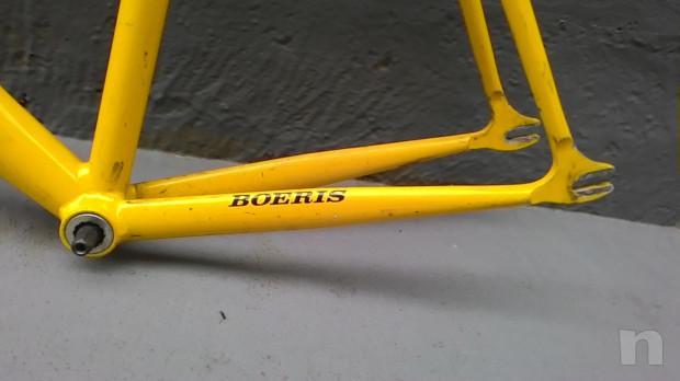 Telaio corsa BOERIS con forcella a foderi dritti x Single Speed . mis.L/XL foto-32645