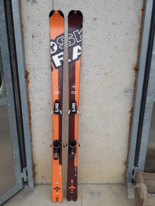 Scialpinismo skitrab piuma evo polvere 178 foto-17133