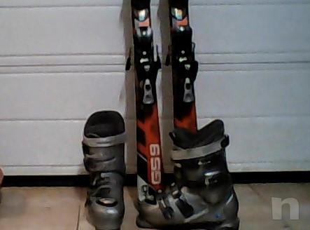 Sci h 1.40 Atomic e scarponi n. 38 Atomic per ragazzo usati ma in buone condizioni. foto-17142