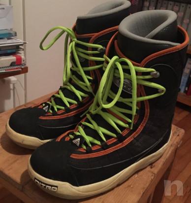 Nitro scarponi snowboard taglia 45 foto-17168
