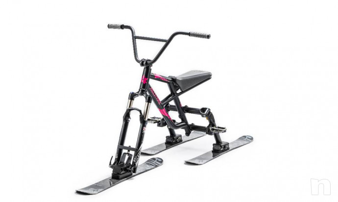 Snowtrike rev-17 Apple Green Ski Trike con BMX Feeling Nuovo foto-32757