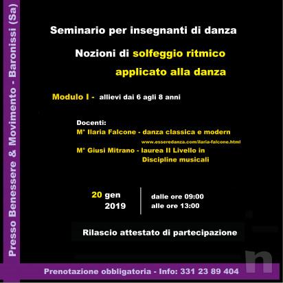 Seminario di  'Solfeggio ritmico applicato alla danza' per insegnanti di danza foto-17325