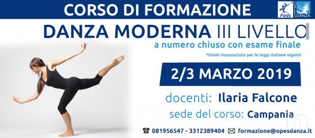 Corso di formazione per insegnanti in Danza Moderna III Livello organizzato da Feds/Opes Danza  foto-17328