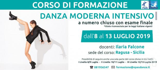 Corso di formazione intensivo per insegnanti in Danza Moderna  organizzato dall'ente Opes foto-17329
