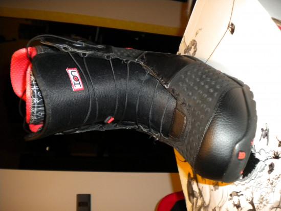 Scarponi snowboard soft Burton Ion taglia 44 foto-33117