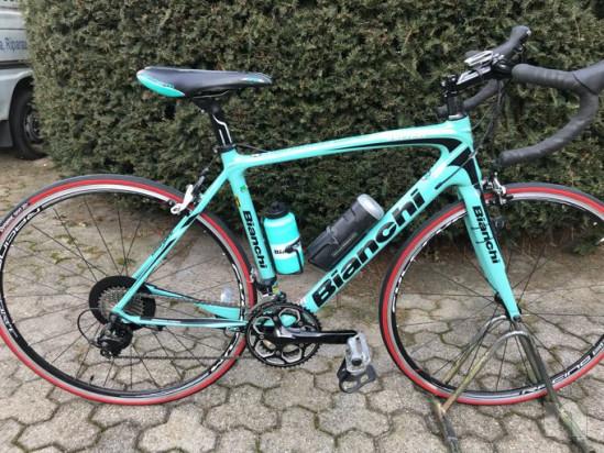 Bicicletta da corsa Bianchi Intenso foto-17426