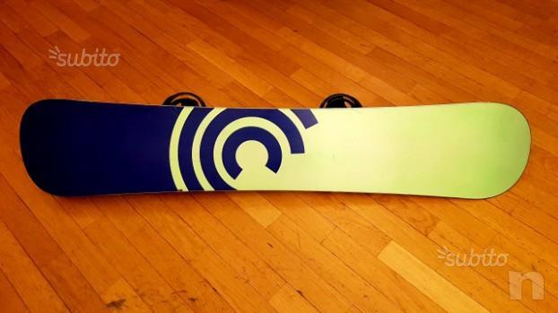 Snowboard Burton Custom 158 + attacchi Burton Mission foto-33314