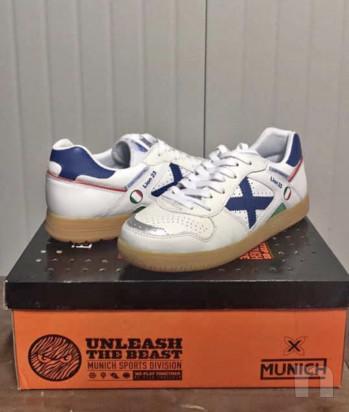 scarpe Munich Continental bianco-azzurro mai utilizzate, taglia 40 foto-17478