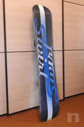 Snowboard Swirl Come Nuovo foto-33460