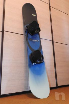 Snowboard Swirl Come Nuovo foto-17499