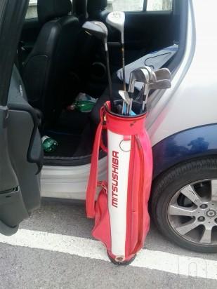 mazze da golf con sacca foto-2832