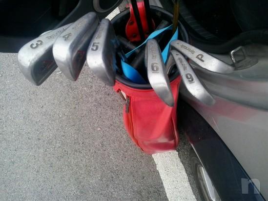 mazze da golf con sacca foto-2831