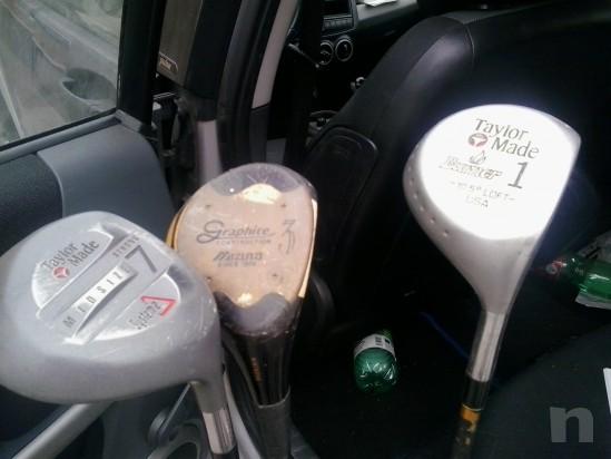mazze da golf con sacca foto-1750