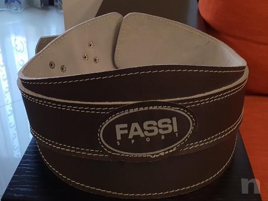 Cintura Fassi per sollevamento pesi foto-17522
